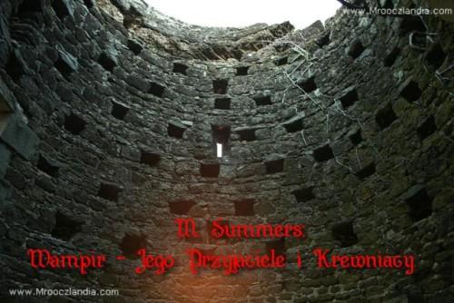 M. Summers: Wampir - Jego Przyjaciele i Krewniacy